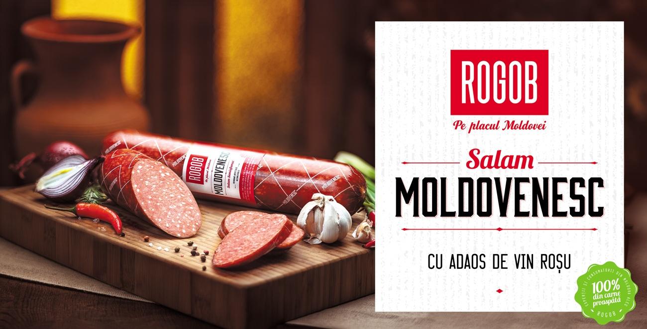 Salamul Moldovenesc de la Rogob – un produs unic pe piaţa Moldovei